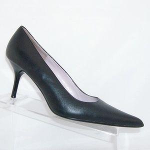 Steve Madden 'Classie' black leather heels 8.5M